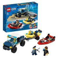 Lego City Transporte De Barco Da Polícia De Elite - 60272