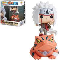 Boneco Funko Pop Naruto Shippuden Exclusive (raro) - Jiraiya On Toad 73