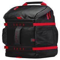 Mochila Hp Odyssey X0r83aa - Impermeável - Para Notebook - Preta E Vermelha