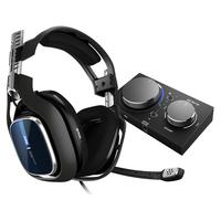 Headset Gamer Logitech Astro A40 Mixamp Pro Tr Áudio Dolby Pc 939-001791