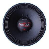 Alto Falante Woofer Azul Atrack Bass 3.8k 15 Pol. 1900 Watts Rms 4 Ohms Bobina Simples - Bomber