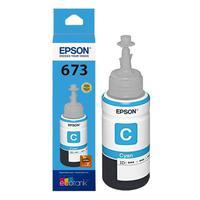 Refil De Tinta Epson T673220al Ciano