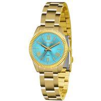 Relógio Feminino Lince Mesh Lrg4492l A3kx - Dourado