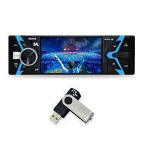 Aparelho Mp5 1 Din Bluetooth Groove Usb Sd Aux  App P3342 Multilaser
