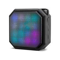 Caixa De Som Bluetooth 10w Rms Portátil Efeitos De Led Colorido Multilaser Sp286