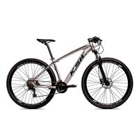 "Bicicleta Aro 29 Ksw 24 V Shimano Freio Hidraulico/trava/k7 Cor: Grafite/preto, Tamanho Do Quadro:21"" - 21"""