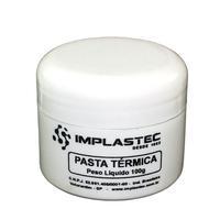 Pasta Térmica de Silicone Implastec Pote 100g