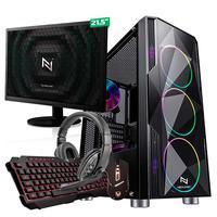 Kit - Pc Gamer Start Nli82911 Amd 320ge 8gb vega 3 Integrado  Ssd 120gb + Monitor 21,5