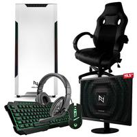 Pc Gamer Completo Start Nli82942 Amd 320ge 16gb vega 3 Integrado 1tb + Cadeira Gamer