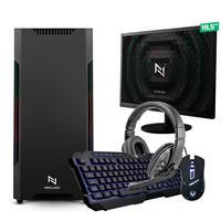 Kit - Pc Gamer Start Nli82880 Amd 320ge 8gb vega 3 Integrado Ssd 240gb + Monitor 19,5