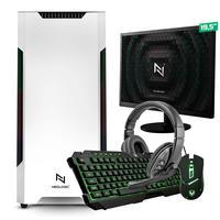 Kit - Pc Gamer Start Nli82894 Amd 320ge 16gb vega 3 Integrado 1tb + Monitor 19,5