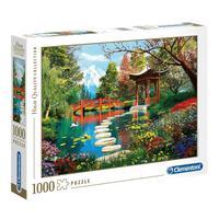 Puzzle 1000 Peças Jardim Japonês - Clementoni - Importado