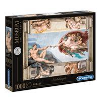 Puzzle 1000 Peças A Criação Do Homem - Clementoni - Importado