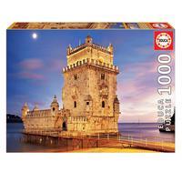 Puzzle 1000 Peças Torre De Belém Educa Importado
