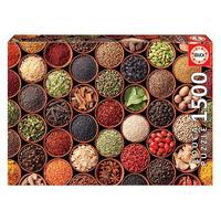 Puzzle 1500 Peças Ervas E Especiarias - Educa