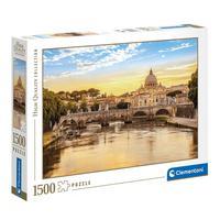 Puzzle 1500 Peças Roma - Clementoni - Importado