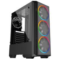 Pc Gamer Intel 10a Geração Core I3 10100f, Geforce Gtx 1650 4gb, 8gb Ddr4 2666mhz, Ssd 480gb, 500w, Skill Pcx