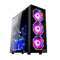 Pc Gamer Fácil Intel Core I5 9400f  nona Geração  16gb Ddr4 Geforce Gtx 1050ti 4gb Ssd 480gb Fonte 500w