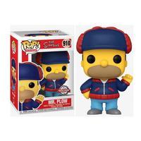 Funko Pop The Simpsons Hommer Mr.plow Se 910